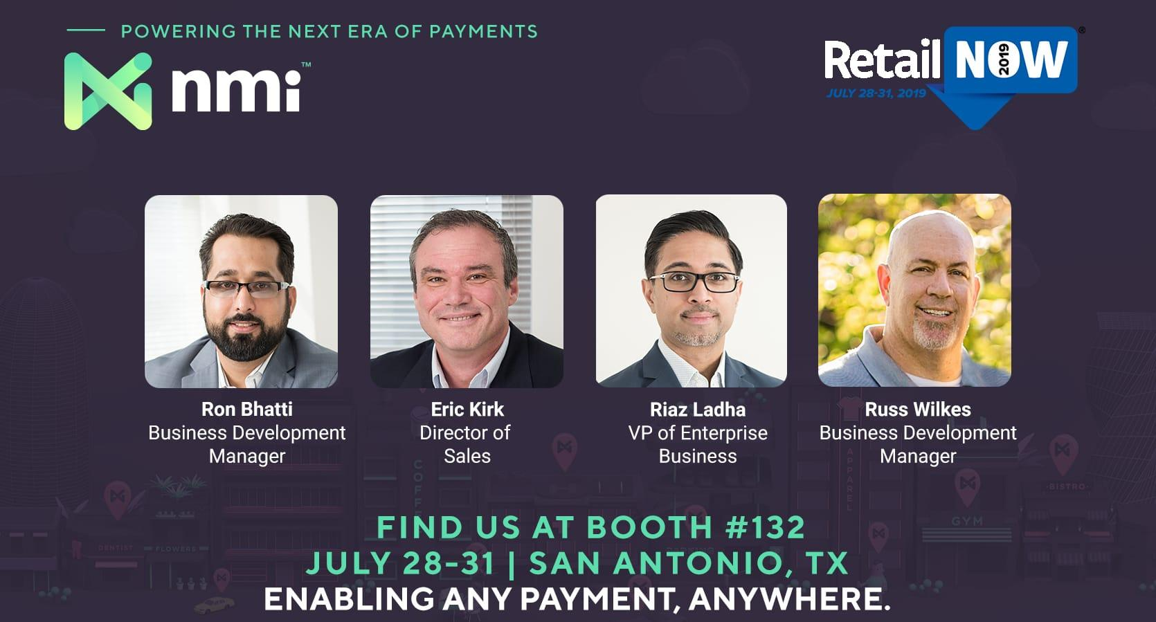 NMI at RetailNOW 2019