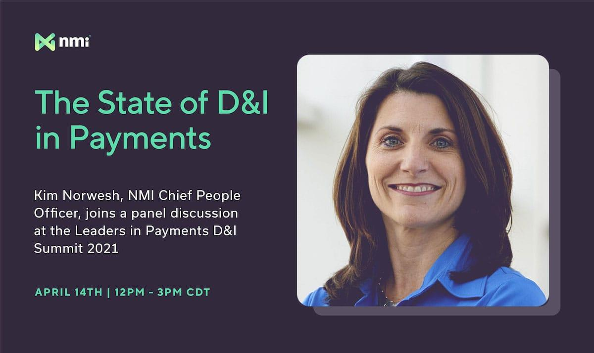 Leaders in Payments D&I Summit 2021 | NMI