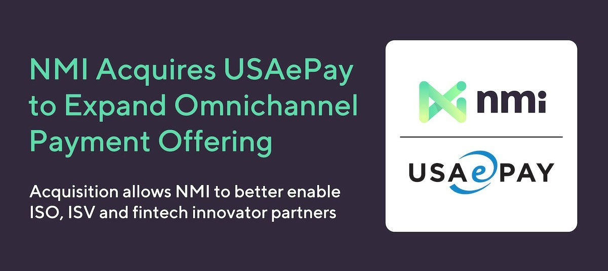 NMI Acquires USAePay