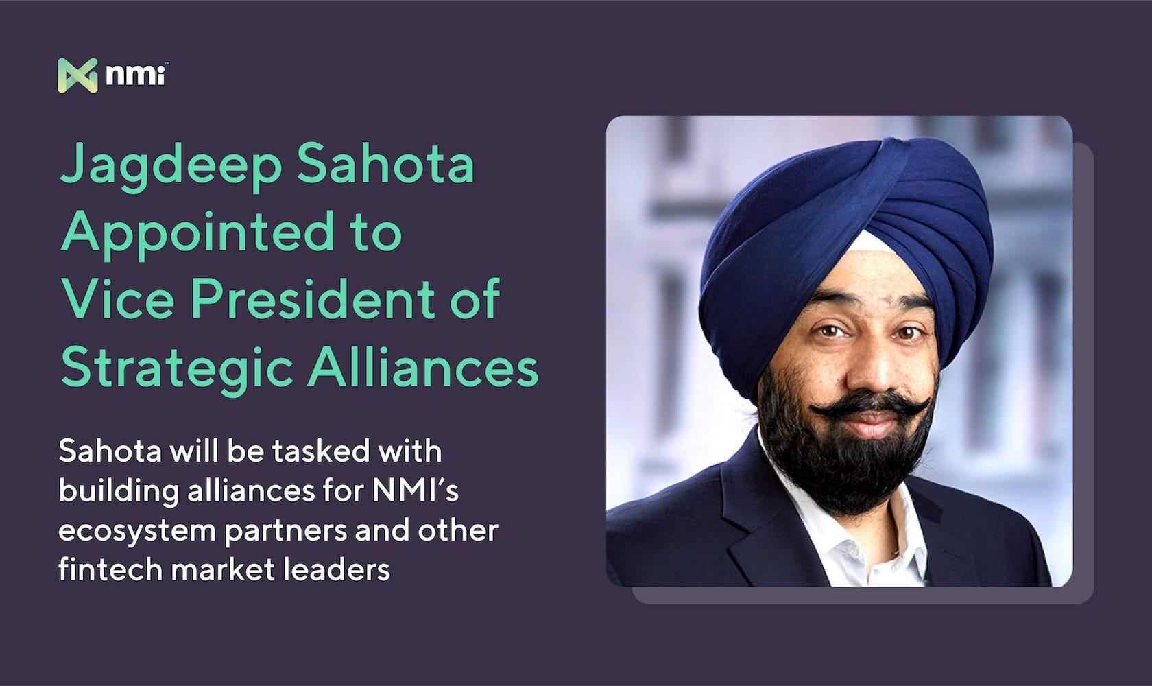Jagdeep Sahota, VP of Strategic Alliances | NMI